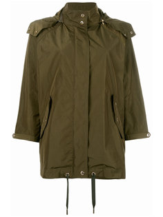 loose-fit military jacket Woolrich