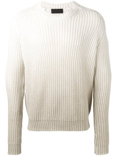 degradé open knit jumper Iris Von Arnim