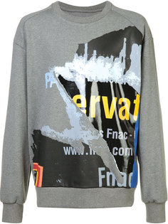printed sweatshirt  Juun.J