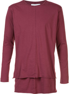 long-sleeve layered T-shirt  Daniel Patrick