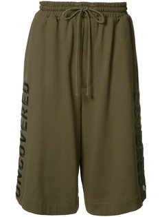 embroidered track shorts  Juun.J