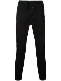 зауженные брюки с эластичным поясом monkey time