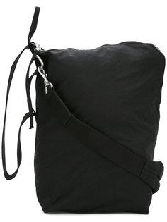 сумка-почтальонка на молнии Rick Owens DRKSHDW