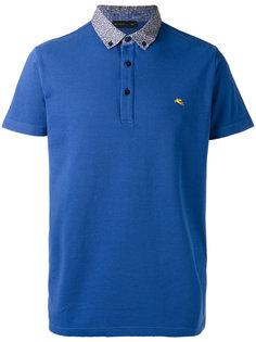 рубашка-поло с контрастным воротником Etro