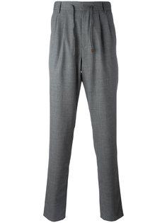 брюки с эластичным поясом Brunello Cucinelli