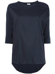 футболка с удлиненным подолом  Brunello Cucinelli