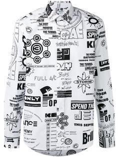 рубашка с принтом Flyers Kenzo