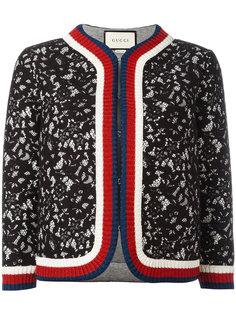 укороченная кружевная куртка Gucci
