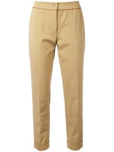 укороченные брюки кроя слим Etro