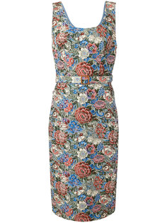 платье с цветочным принтом Ermanno Scervino