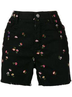 шорты с цветочной вышивкой Ermanno Scervino