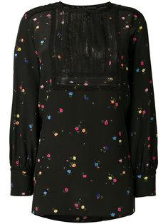 блузка с цветочным принтом Ermanno Scervino