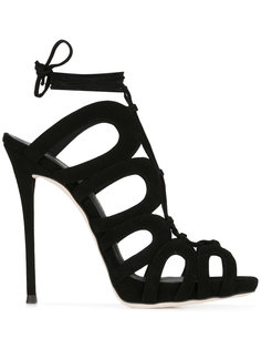 lace-up stiletto sandals Giuseppe Zanotti Design