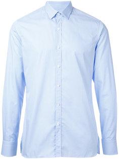 однотонная рубашка Lanvin