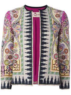 куртка с принтом Indian Etro