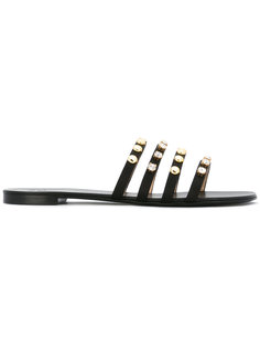 сандалии с заклепками Giuseppe Zanotti Design