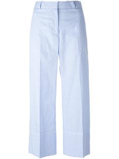 укороченные брюки в полоску Ermanno Scervino