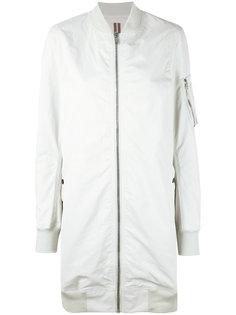 куртка-бомбер на молнии Rick Owens DRKSHDW
