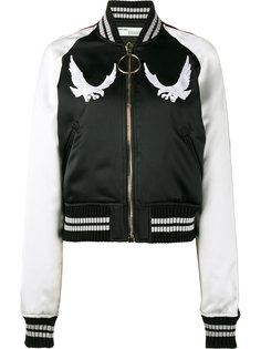 куртка-бомбер с вышитой птицей Off-White
