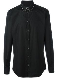 рубашка с контрастным воротником Dolce & Gabbana
