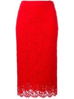 кружевная юбка-карандаш Ermanno Scervino