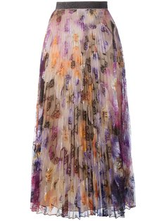 pleated pansy lace skirt Christopher Kane