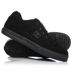 Кеды кроссовки низкие DC Pure Black/Pirate Black