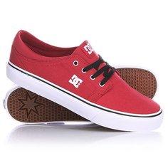 Кеды кроссовки DC Trase Tx Shoe Dark Red