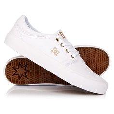 Кеды кроссовки низкие женские DC Trase Tx White/Gum