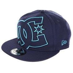 Бейсболка с прямым козырьком DC Double Up Summer Blues