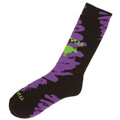 Носки высокие GNU Advanced Geo Sock Bd Purple