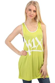 Майка женская K1X Tear It Up Tank Top Volt/White