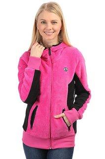 Толстовка утепленная женская Volcom Novo Zip Plush Jacket Pink