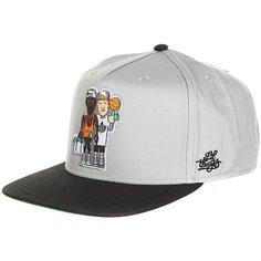 Бейсболка с прямым козырьком K1X La Sizzlers Snapback Cap Grey/Black