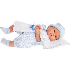 Кукла Габи в голубом, плачущая, 36 см, Munecas Antonio Juan