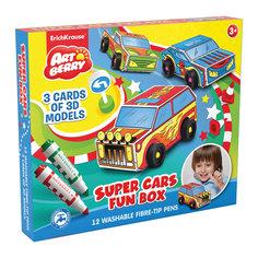 Набор для творчества Super Cars Fun box Artberry Erich Krause