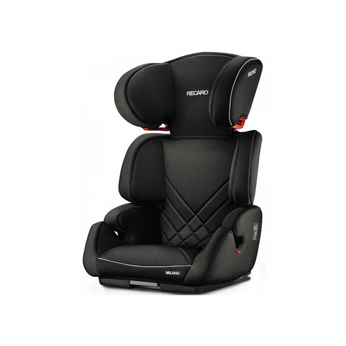 Автокресло Milano Seatfix 15-36 кг., Recaro, Performance Black
