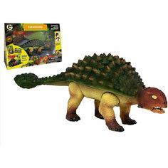 Динозавр Анкилозавр, коллекция Jurassic Action, Geoworld