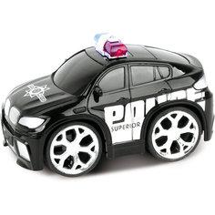 Машинка на радиоуправлении Police Car, черная, Blue Sea