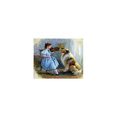 """Картина по номерам """"К. Разумов: Благодарный слушатель"""", 40*50 см Molly"""