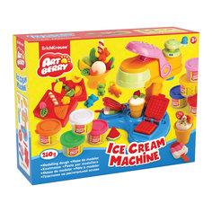 Набор для лепки: Пластилин на растительной основе Ice Cream Machine 8 цветов по 35г Erich Krause