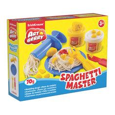 Набор для лепки: Пластилин на растительной основе Spaghetti Master 2 цвета по 35г Erich Krause