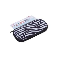 Пенал COLORZ BOX, цвет черно-белый Zipit