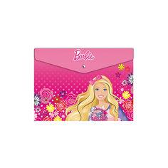 Конверт на кнопке А4, Barbie Limpopo