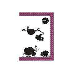 """Бордовая тетрадь А5 """"Flex book"""" 80 листов Limpopo"""