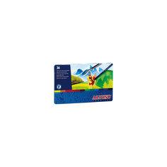 Цветные шестигранные акварельные карандаши AQUALINE, 36 цв. Alpino