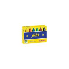 Восковые карандаши Ceras DACS, 6 цв. Alpino