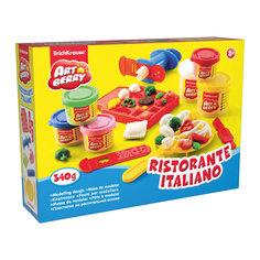 Набор для лепки: Пластилин на растительной основе Ristorante Italiano 2 цвета по 100г, 4 цвета по 35г Erich Krause