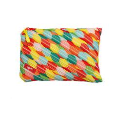 Пенал-сумочка COLORS JUMBO POUCH, цвет мульти пузыри большие Zipit