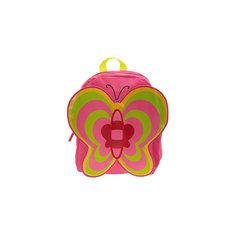 "Рюкзак ""Бабочка"", цвет фуксия с зеленым 3D Bags"